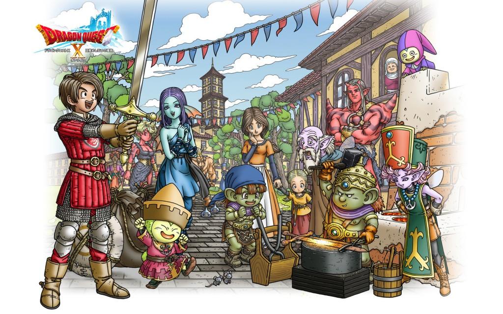 Dragon Quest X daté sur PS4 et Switch