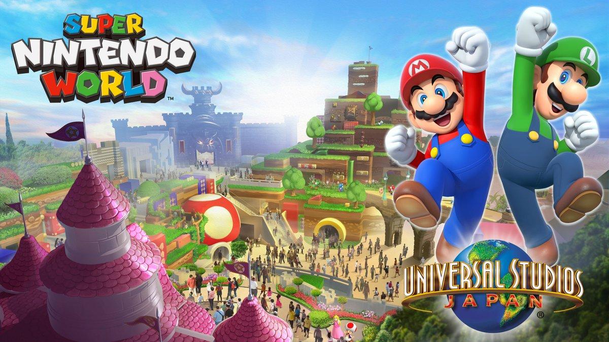 Le parc «Super Nintendo World» se précise aux USA