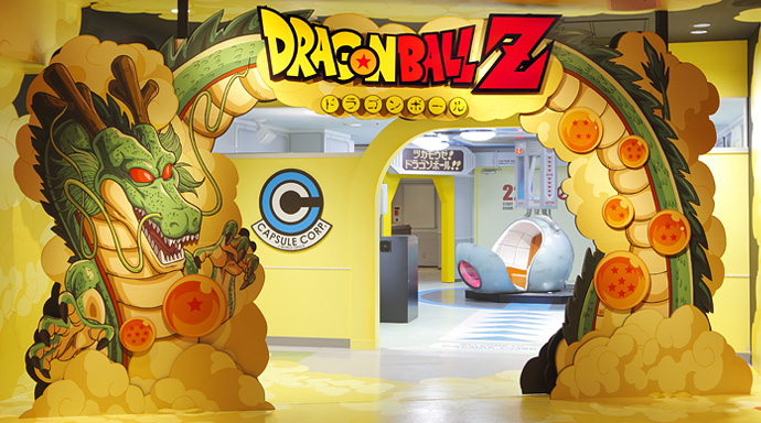 Une nouvelle attraction Dragon Ball au J-World