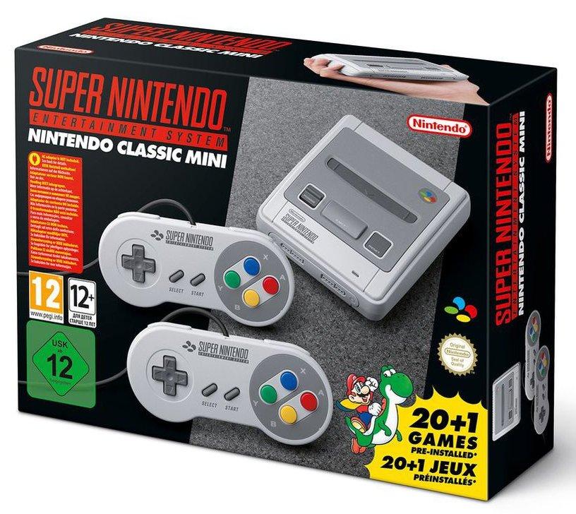 La Super Nintendo Classic Mini officialisée