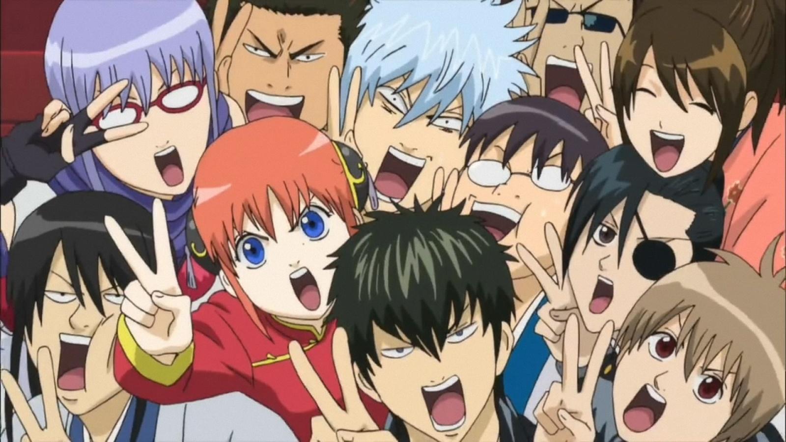 Charts Anime : Gintama au pied du podium