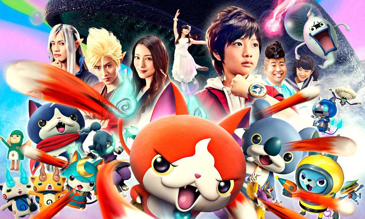 Charts Anime : Yo-kai Watch face à l'occident