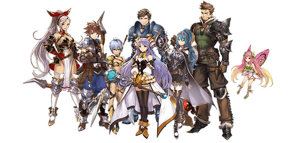 Les personnages de Dia Horizon