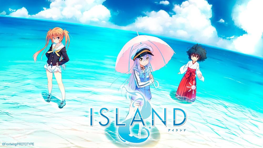 L'adaptation en anime de Island prévue pour 2018