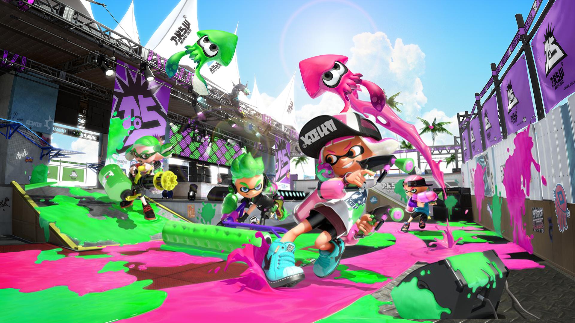 Charts jeux vidéo : Splatoon 2 fait s'envoler la Switch
