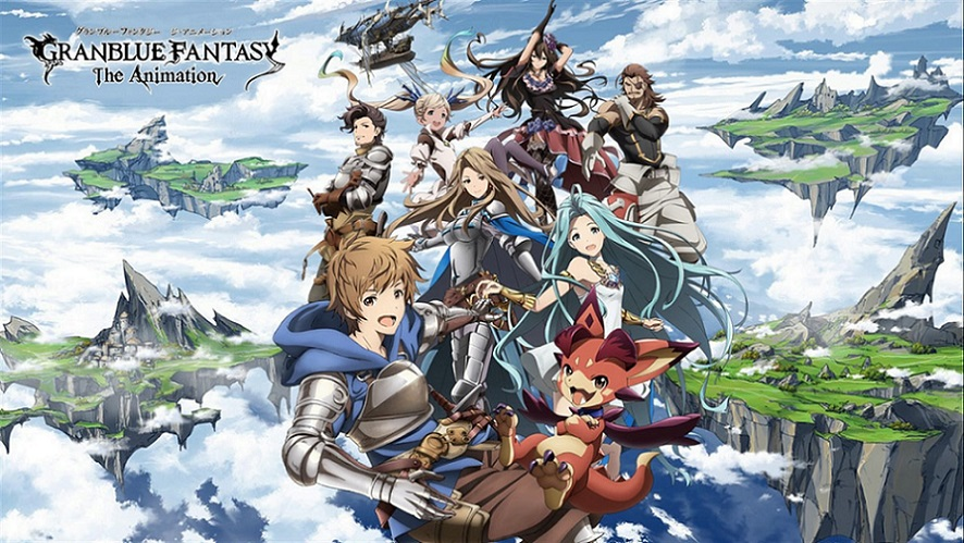 Granblue Fantasy the Animation est partout
