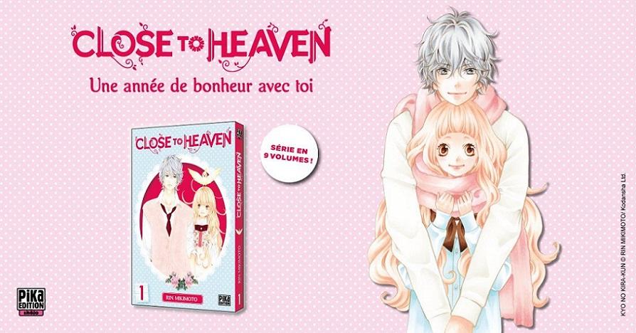 Close to Heaven arrive chez Pika Edition