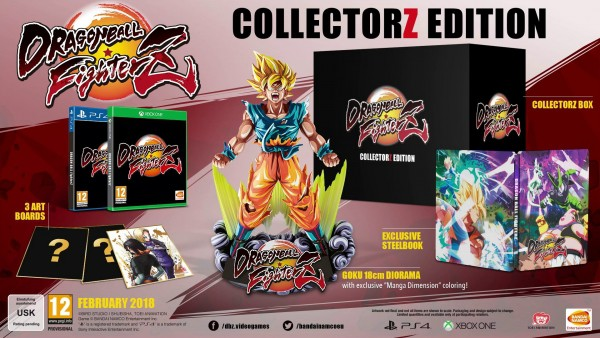 dragon ball fighterz collector