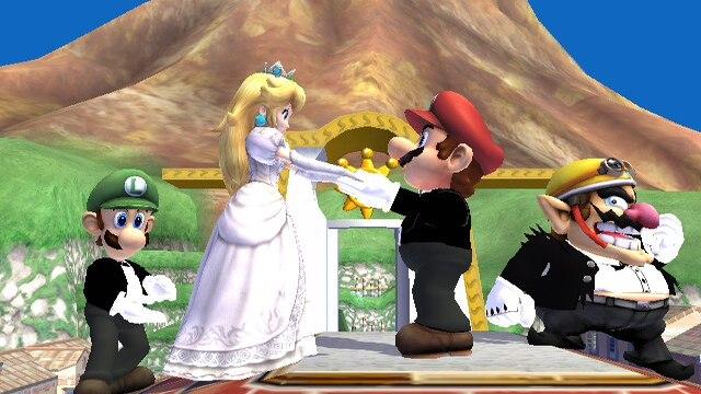 Un formulaire de mariage aux couleurs de Mario et Peach !