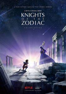 Le visuel du remake de Saint Seya par Netflix
