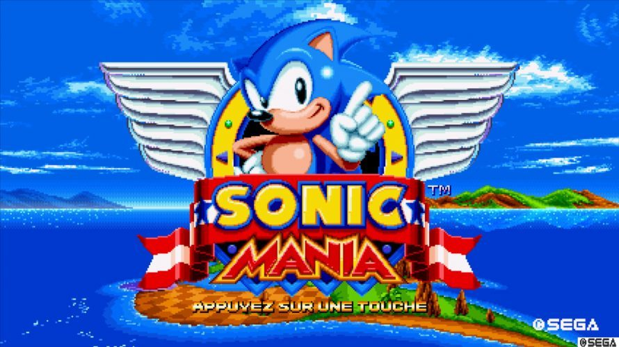 Test : Sonic Mania (PS4)