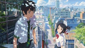 "Image du film ""Your Name"""