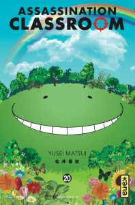 Assassination classroom tome 20 couverture
