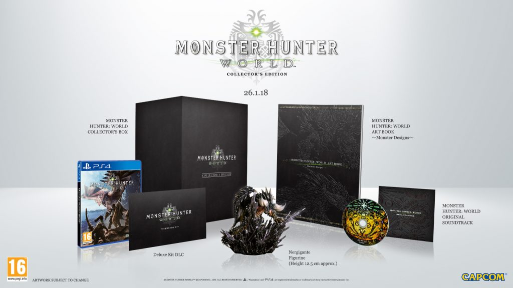 Monster Hunter World collector