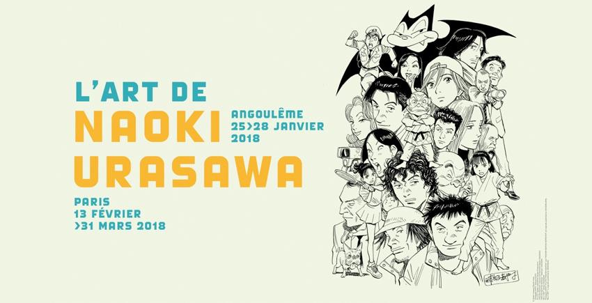 Une exposition consacrée à Naoki Urasawa en 2018