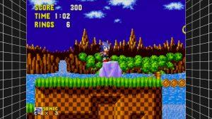 Sega Mega Drive Classics filtre bilinéaire