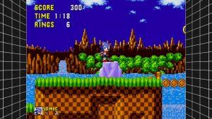 Sega Mega Drive Classics filtre EPX
