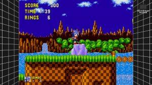 Sega Mega Drive Classics filtre XBR