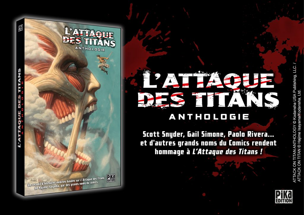 l'attaque des titans anthologie