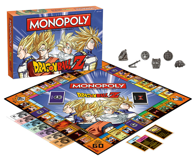 Apercu du Monopoly Dragon Ball Z