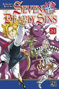 Seven Deadly Sins 24 jaquette