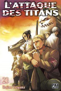 attaque des titans tome 23 edition couverture