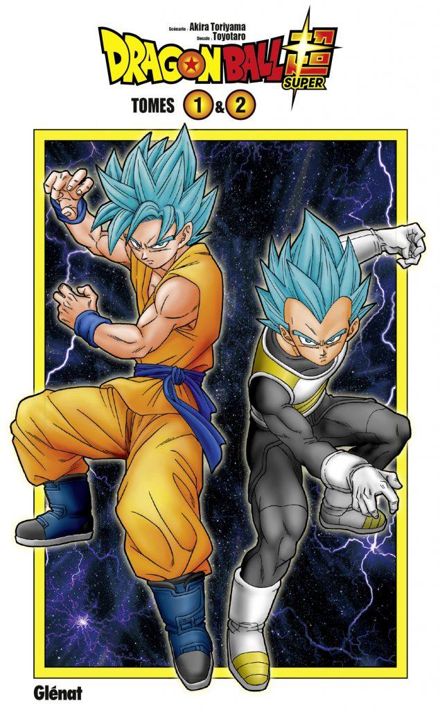 Dragon Ball Super coffret tome 1&2