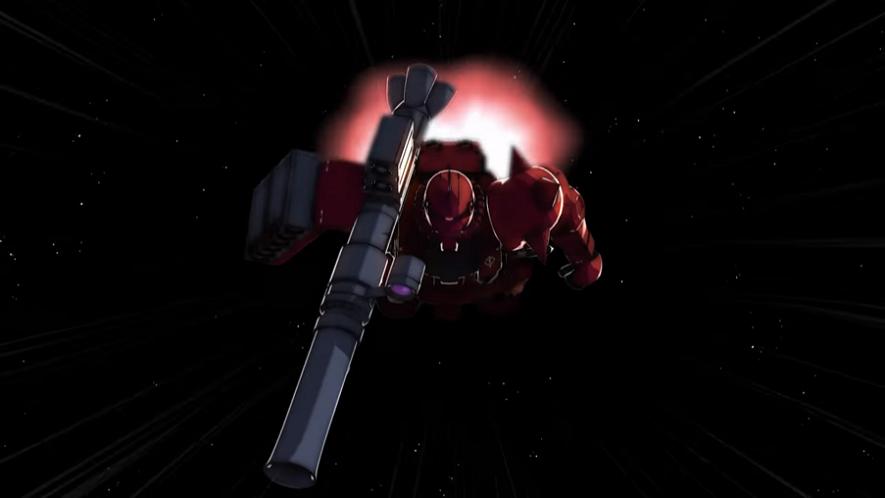 Mobile Suit Gundam a tout phagocyté