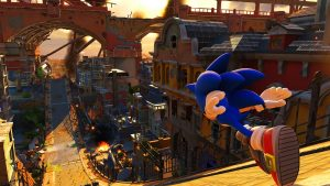 sonic forces moderne