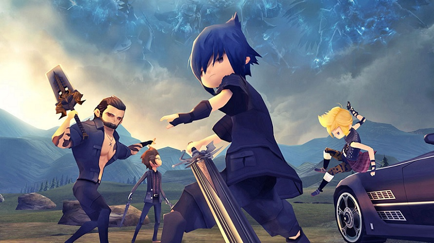 Final Fantasy XV Pocket Edition : Comparatif mobile/console en vidéo