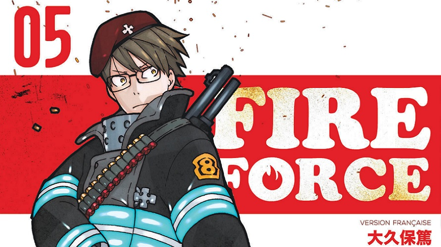 Critique : Fire Force (Tome 5)