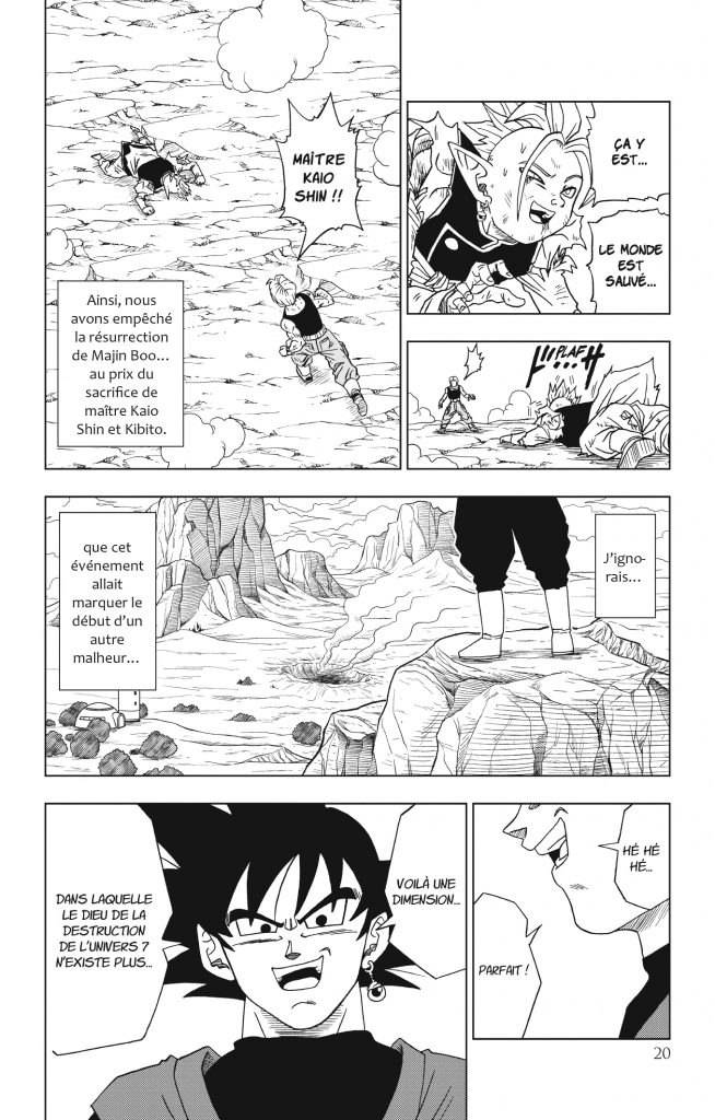 dragon ball super tome 3 extrait