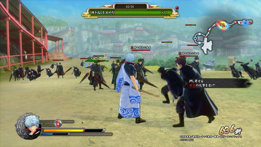 gintama rumble gameplay