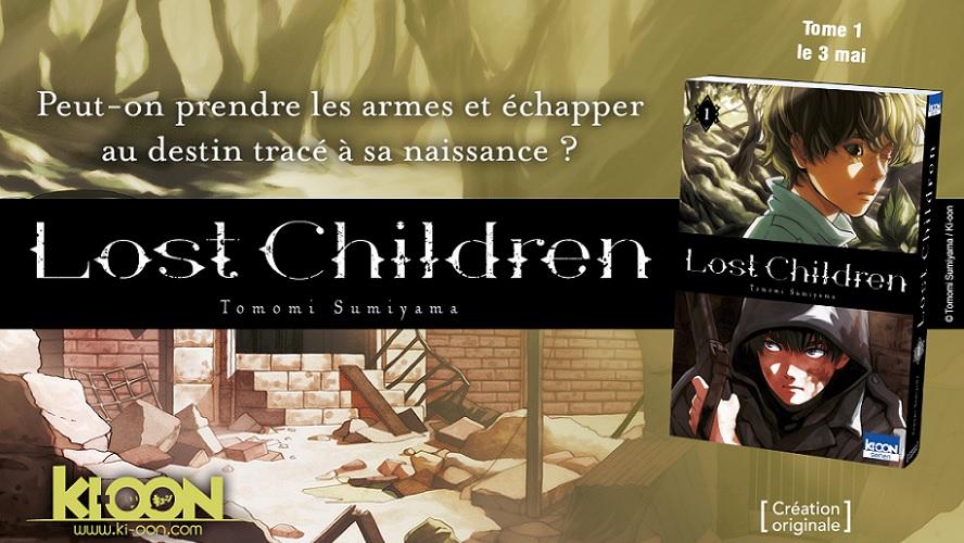 Lost Children, la nouvelle création originale de Ki-oon
