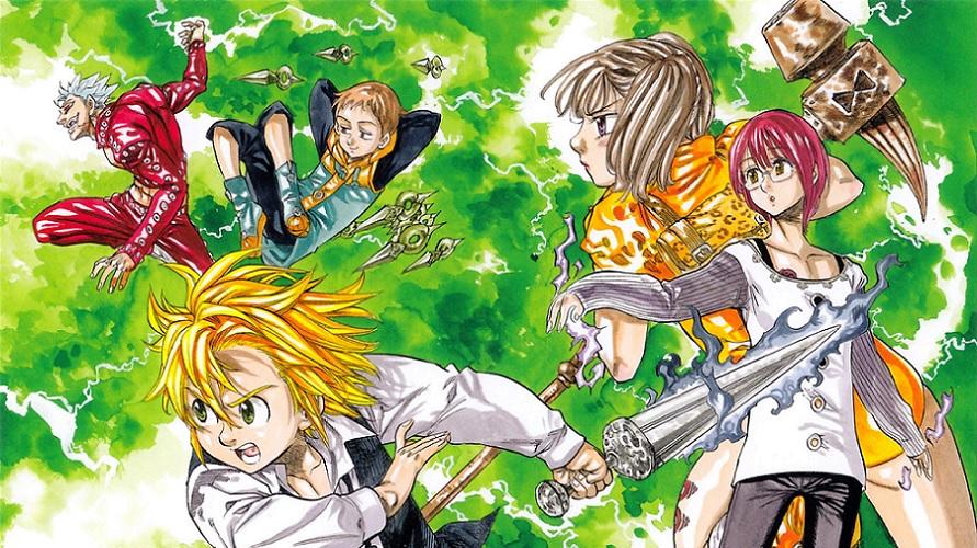 Charts manga : La stabilité paie pour The Seven Deadly Sins
