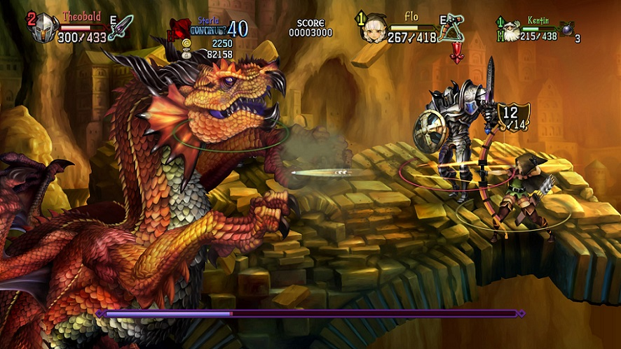 Dragon's Crown Pro met en avant sa 4K