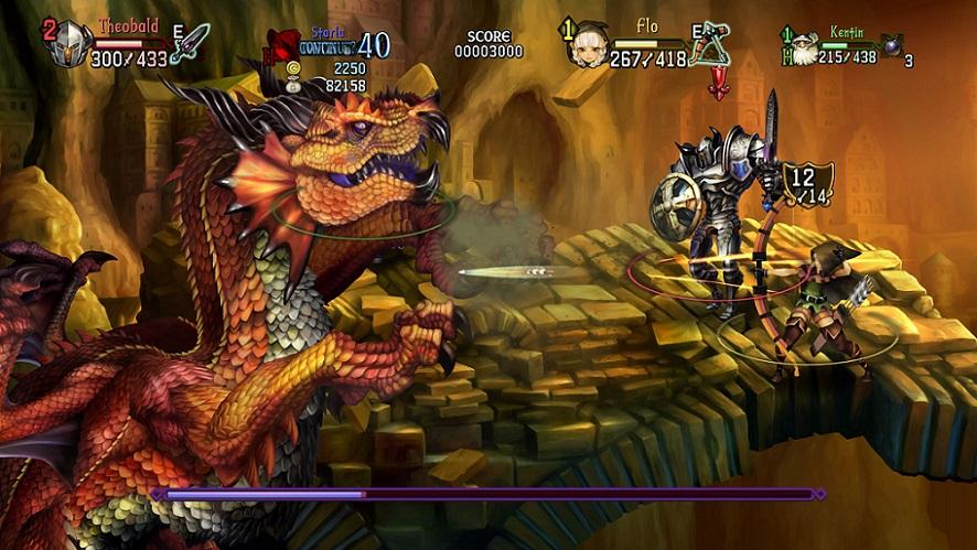 Dragon's Crown Pro présente ses personnages