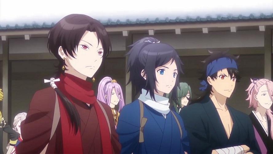 Charts anime : Zoku Touken Ranbu devancé par Free!
