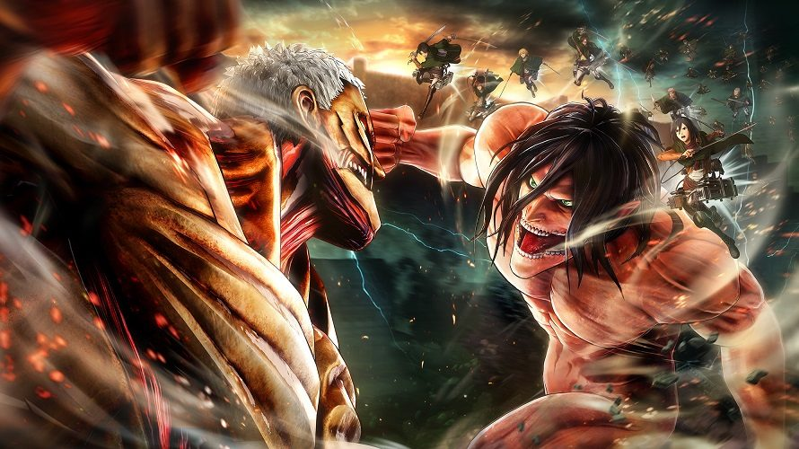Test : A.O.T. 2 / Attack on Titan 2 (PS4)