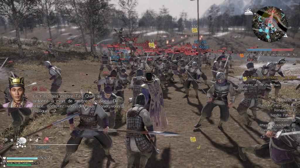 dynasty warriors 9 -combats