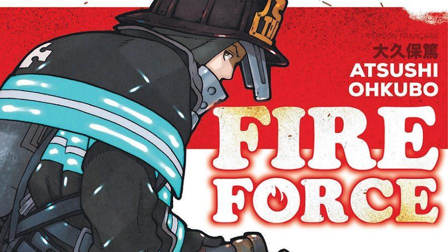 Fire Force adapté en anime par David Production