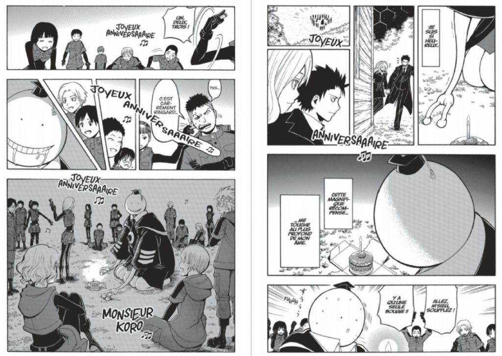 Assassination Classroom Tome 20 extrait