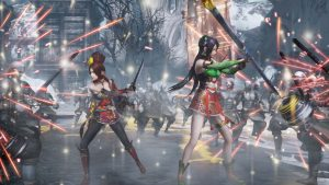 Warriors Orochi 4 Guan Yinping and Kai
