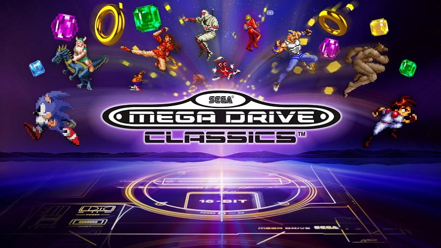 Test : Sega Mega Drive Classics (PS4/Xbox One)