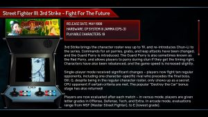 Street Fighter 30th Anniversary Collection description jeux