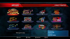 Street Fighter 30th Anniversary Collection liste jeux
