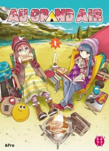 au grand air yuru camp tome 1