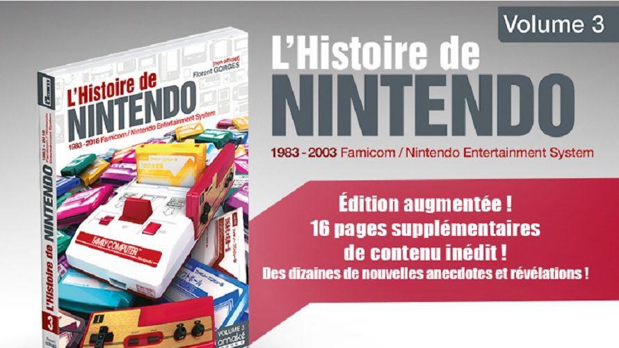 Le volume 3 de L'Histoire de Nintendo se refait une beauté
