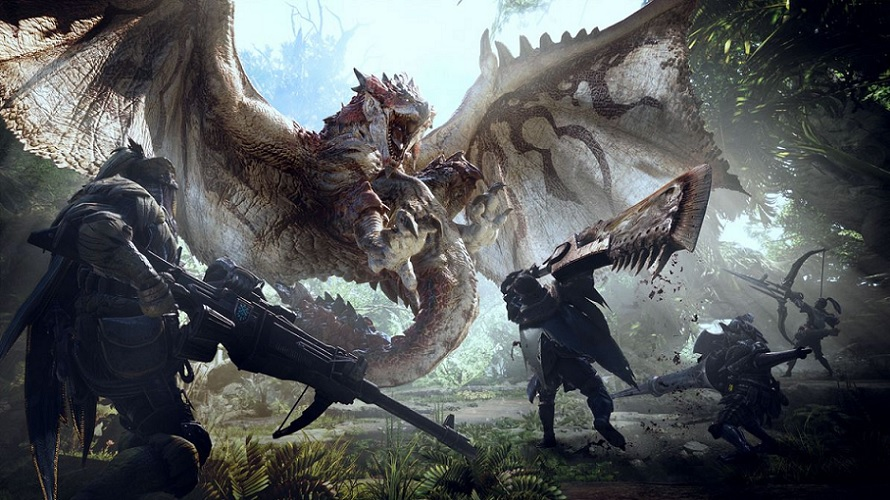 Monster Hunter World : 7,9 millions de ventes et un record