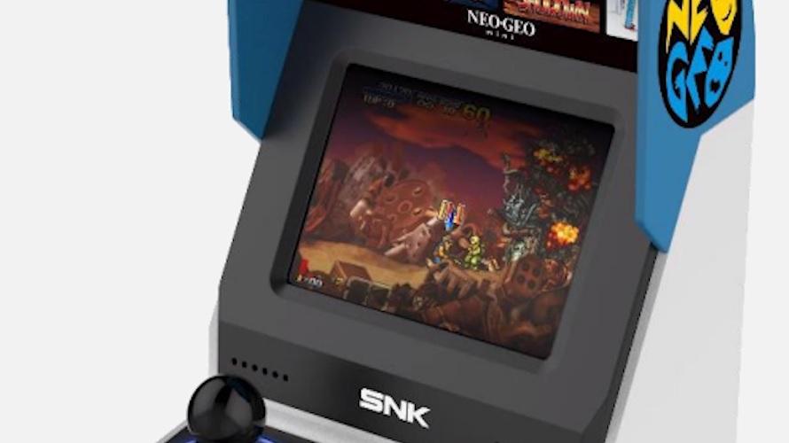 Le design de la Neo-Geo Mini aurait-il leaké ?
